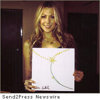 Colbie Caillat with Tshirt design