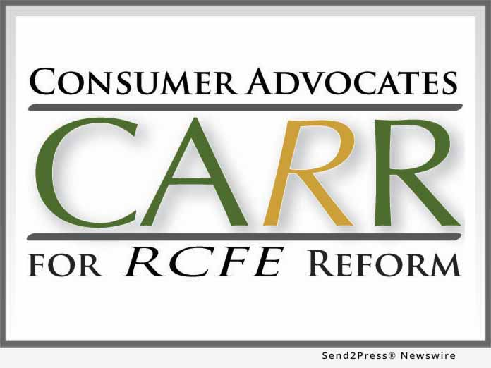Consumer Advocates for RCFE Reform (CARR)