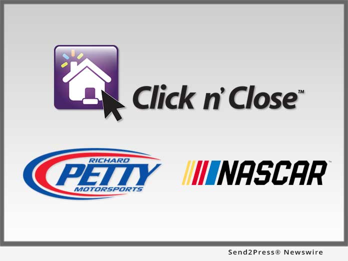 Click n' Close and NASCAR