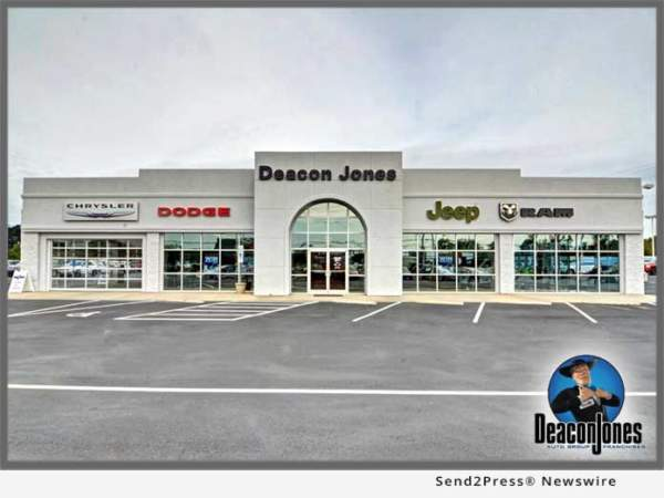 Deacon Jones Chrysler Operations Resume After Driver Crashes Into Building  At Smithfield NC Dealership | California Newswire