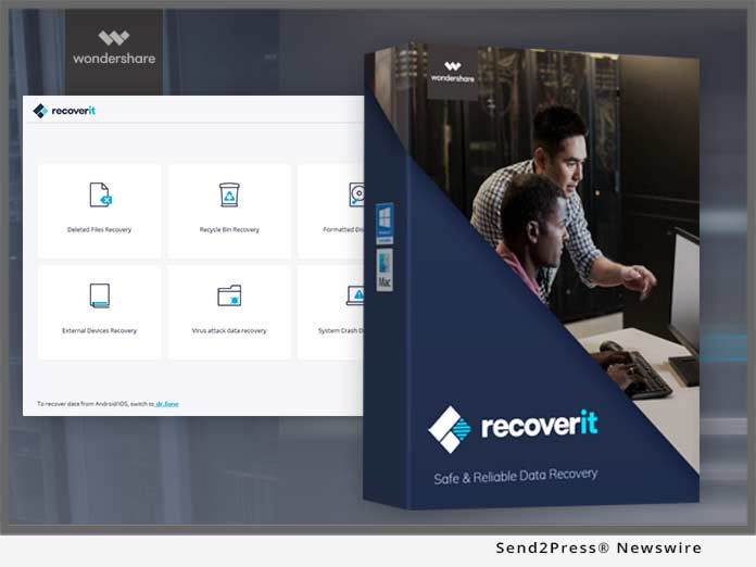 Wondershare Launches Recoverit Free to Recover up to 100MB Data ...