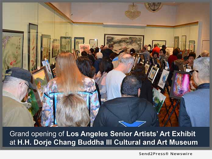 The Senior Artists' Art Exhibit - Collection from the Treasure Chest