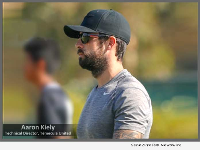 Temecula United Coach Aaron Kieley