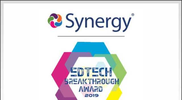 Synergy Edtech Breakthrough Award