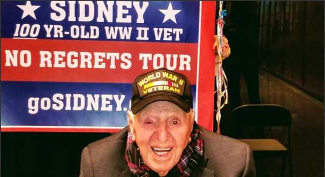 100-year-old WWII Veteran Sidney Walton