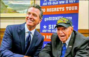 Sidney Walton meets with CA Gov Newsom July 29