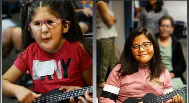 Notes Bring Hope - children from Partners for Pediatric Vision