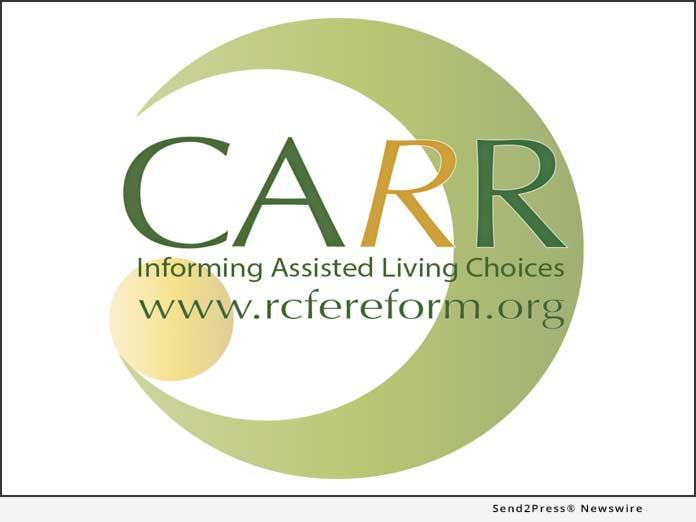 CARR RCFE Reform