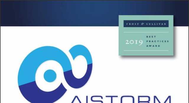 AISTORM - Frost and Sullivan Award