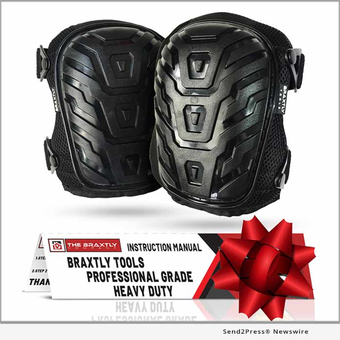 Braxtly Knee Pads Holiday