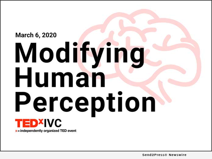 TEDxIVC Modifying Human Perception