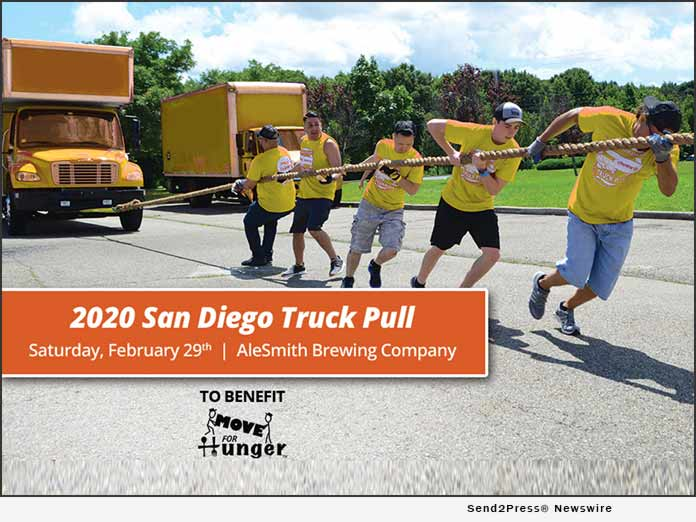 Move For Hunger - San Diego Truck Pull 2020