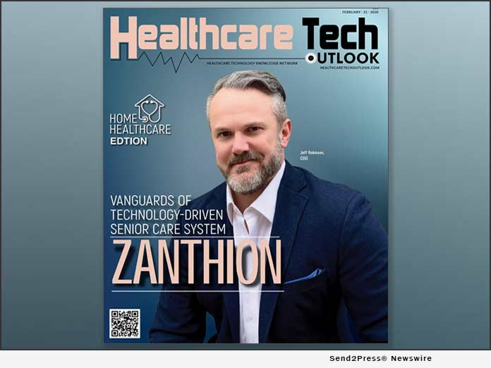 Zanthion named Top 10 Home Healthcare Solution Provider