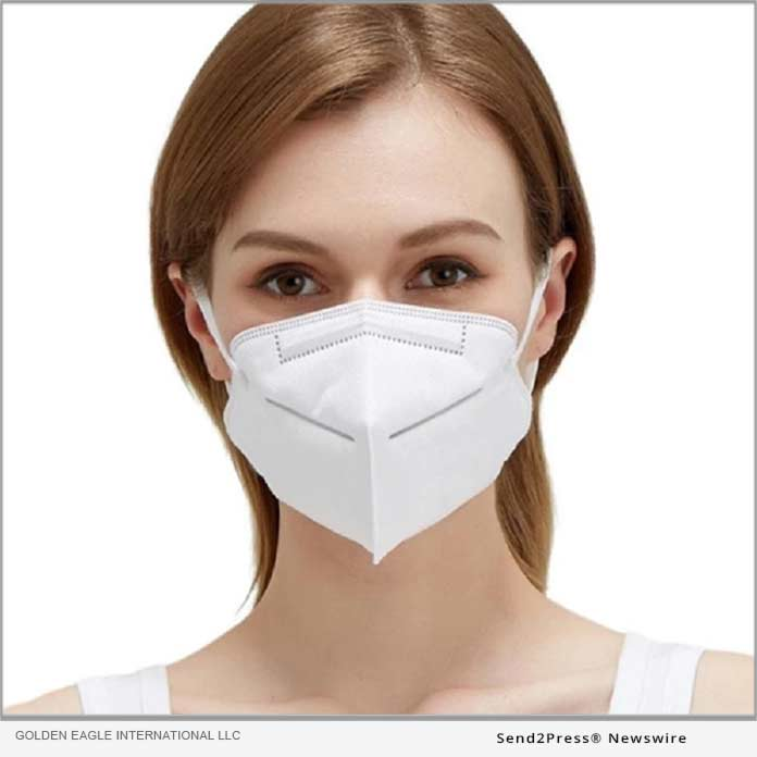 KN95 disposable mask from Golden Eagle International