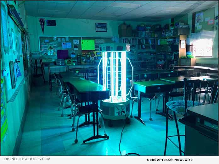 DisinfectSchools.com UV-C Light