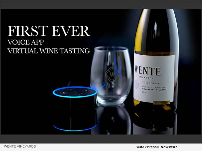 Wente Vineyards Virtual Wine Tasting Voice App