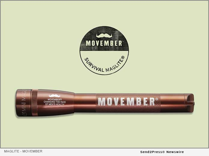 MAGLITE Movember Survival Flashlight