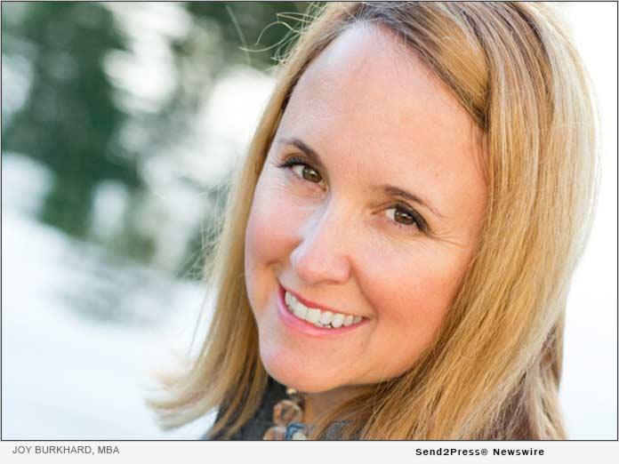 Joy Burkhard, MBA, of 2020 Mom