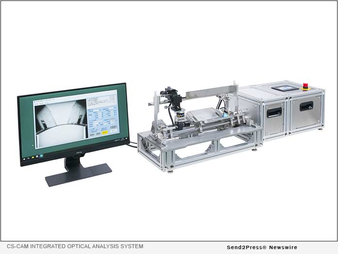 CS-CAM integrated optical analysis system