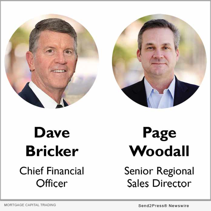 Dave Bricker and Page Woodall