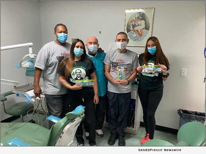 Vibrant Green for Vibrant Peace and Vernon Dental Specialties