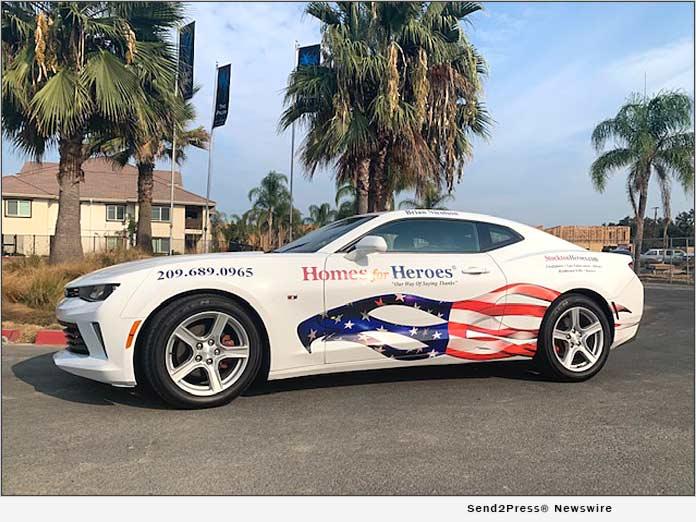 StocktonHeroes.com debuts local Custom Camaro