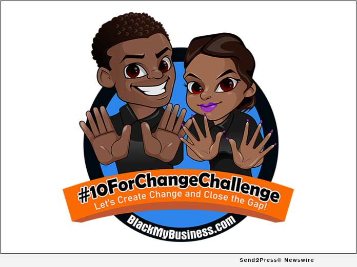 #10ForChangeChallenge - Black My Business