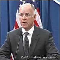 Calif. Gov. Jerry Brown