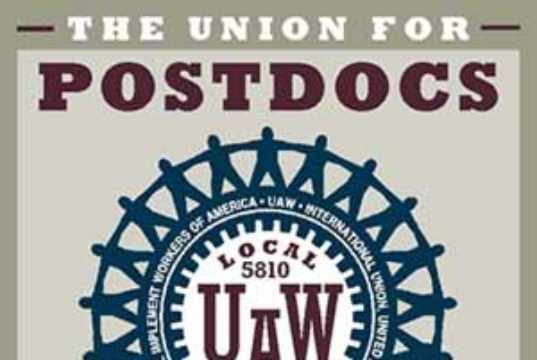 Union for Postdocs UAW