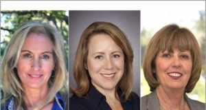 Dana Liedel, Suzanne McGarey and Lydia Rivera