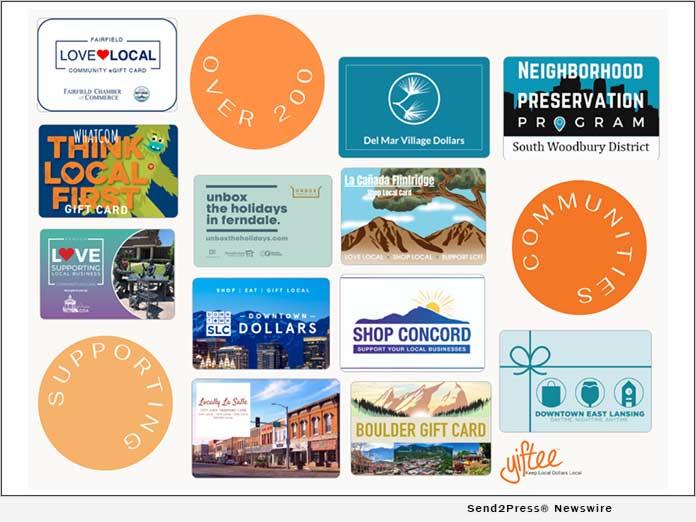 Yiftee Surpasses 200 Community eGift Card Programs