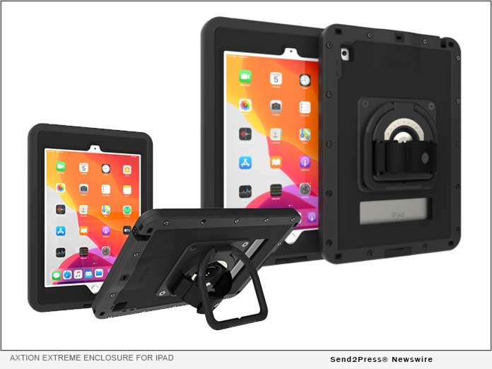 The Joy Factory aXtion Extreme Enclosure for iPad
