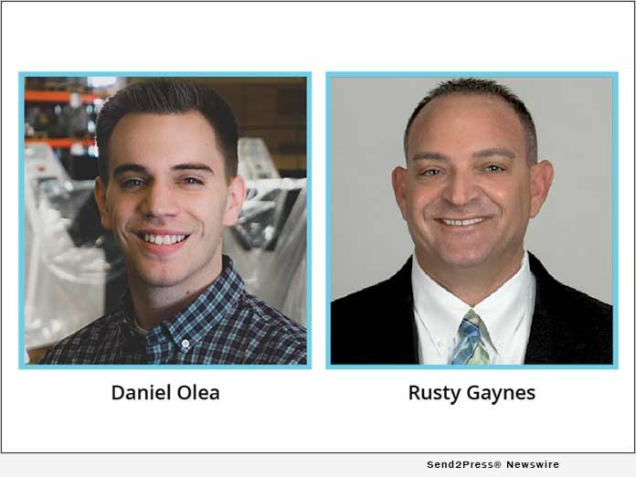 Daniel Olea and Rusty Gaynes