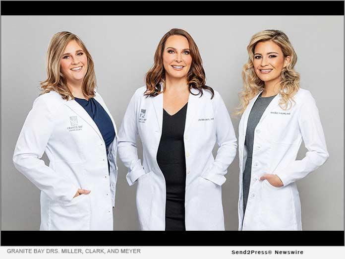 Dr. Amie Miller, Dr. Christa Clark, and Dr. Annika Meyer