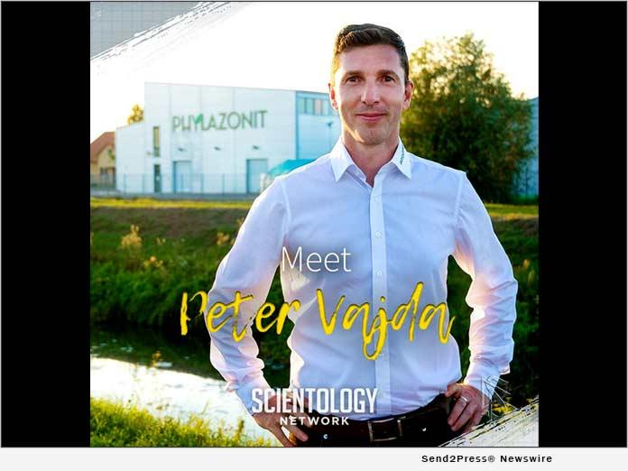 Scientologist Peter Vajda