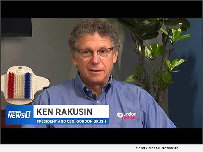 Ken Rakusin Grows Gordon Brush