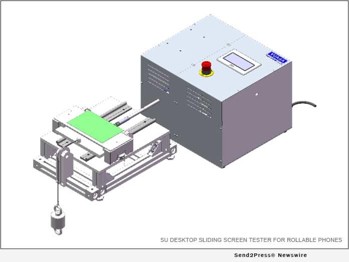 SU Desktop Sliding Screen Tester for Rollable Phones