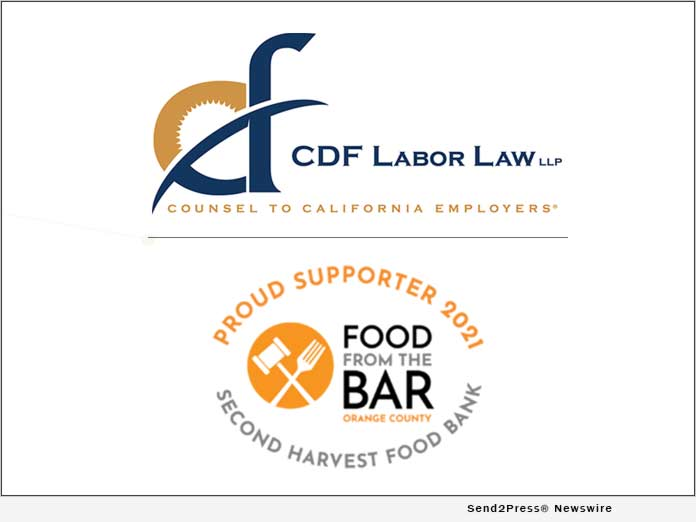 CDF Labor Law LLP - Food from the Bar Supporter