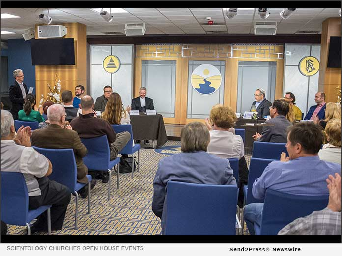 Scientology Churches hold open house events