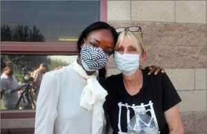 Fritzi Horstman and Dr. Nadine Burke-Harris