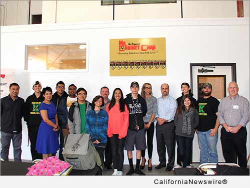 Million Acts Of Kindness Mr Cabinet Care Opens Doors To Anaheim High School Students California Newswire