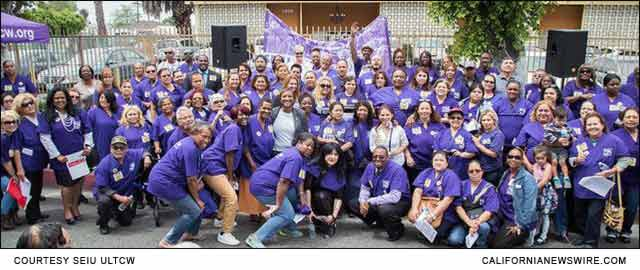 SEIU-ULTCW President Laphonza Butle, and hundreds of Nursing Home Workers and Community Allies in Support of SB 779