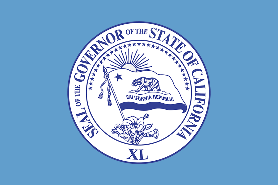 Governor of the state of California Seal