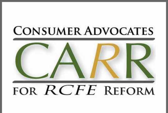 Consumer Advocates for RCFE Reform