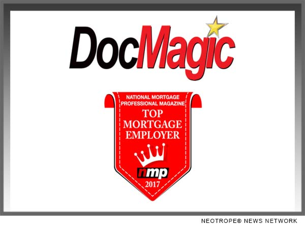 DocMagic NMP 2017 Award