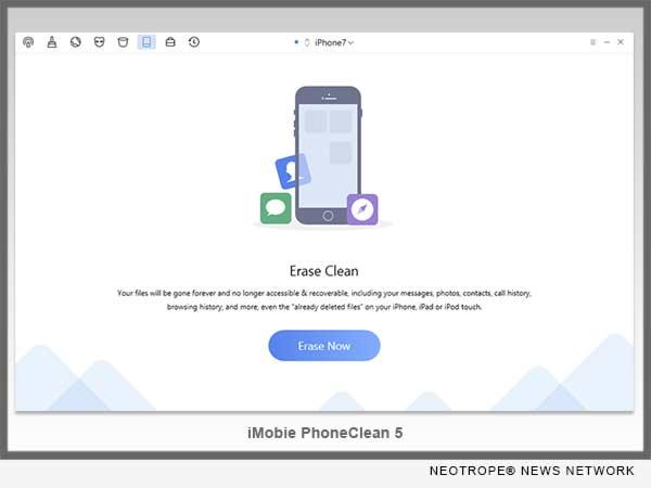 iMobie Updates PhoneClean 5