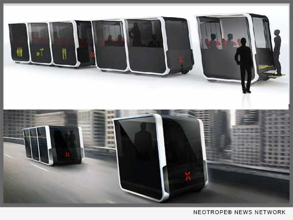 NEXT Fully Autonomous Modular Vehicle
