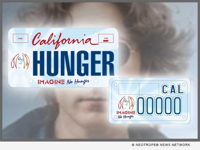 California Imagine No Hunger Plates