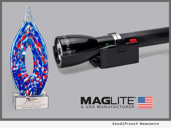 MAGLITE Flashlight Wins 2018 Best New Product