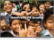 Neotrope Nonprofit PR Grants for 2018
